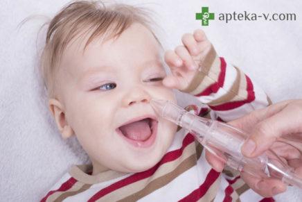 Насморк, сопли у ребенка, новорожденного, грудничка — лечение, причины