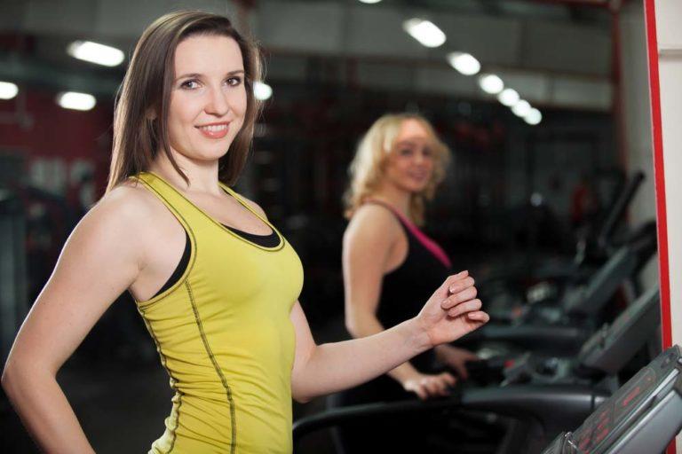 фитнес, беговая дорожка, кардио тренировка
