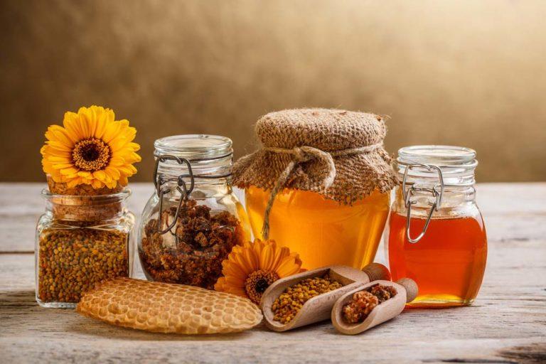 Прополис, мед