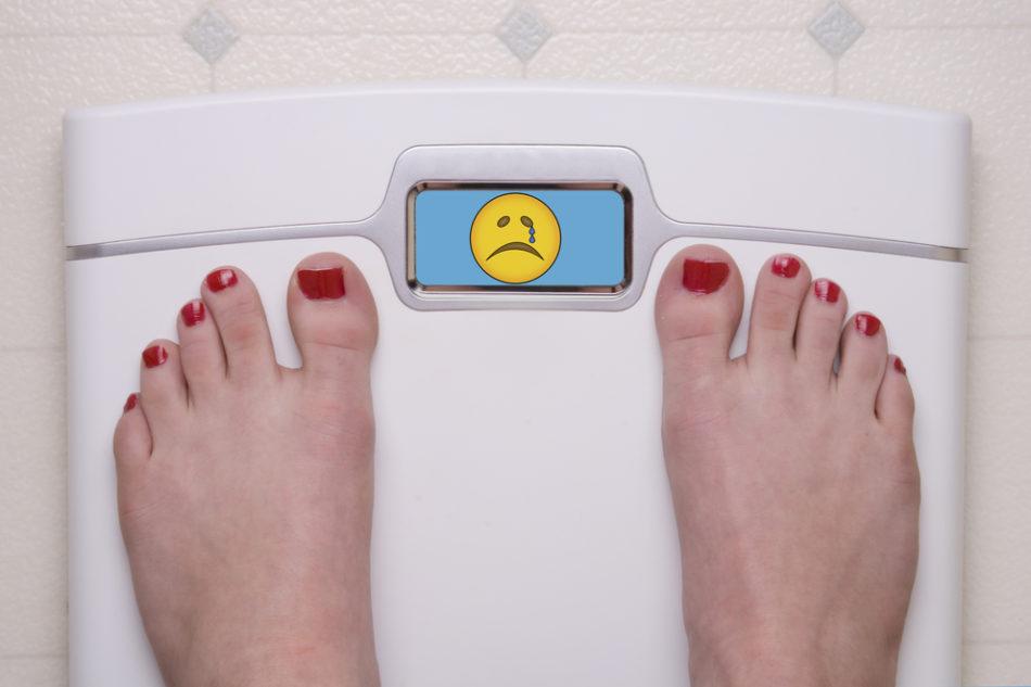 анорексия, весы